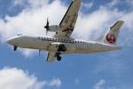 つっさんさんが、伊丹空港で撮影した日本エアコミューター ATR-42-600の航空フォト(写真)