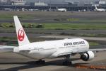 湖景さんが、羽田空港で撮影した日本航空 777-246/ERの航空フォト(写真)