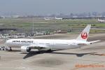 湖景さんが、羽田空港で撮影した日本航空 777-346/ERの航空フォト(写真)