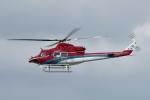 yabyanさんが、名古屋飛行場で撮影した石川県消防防災航空隊 412EPの航空フォト(飛行機 写真・画像)