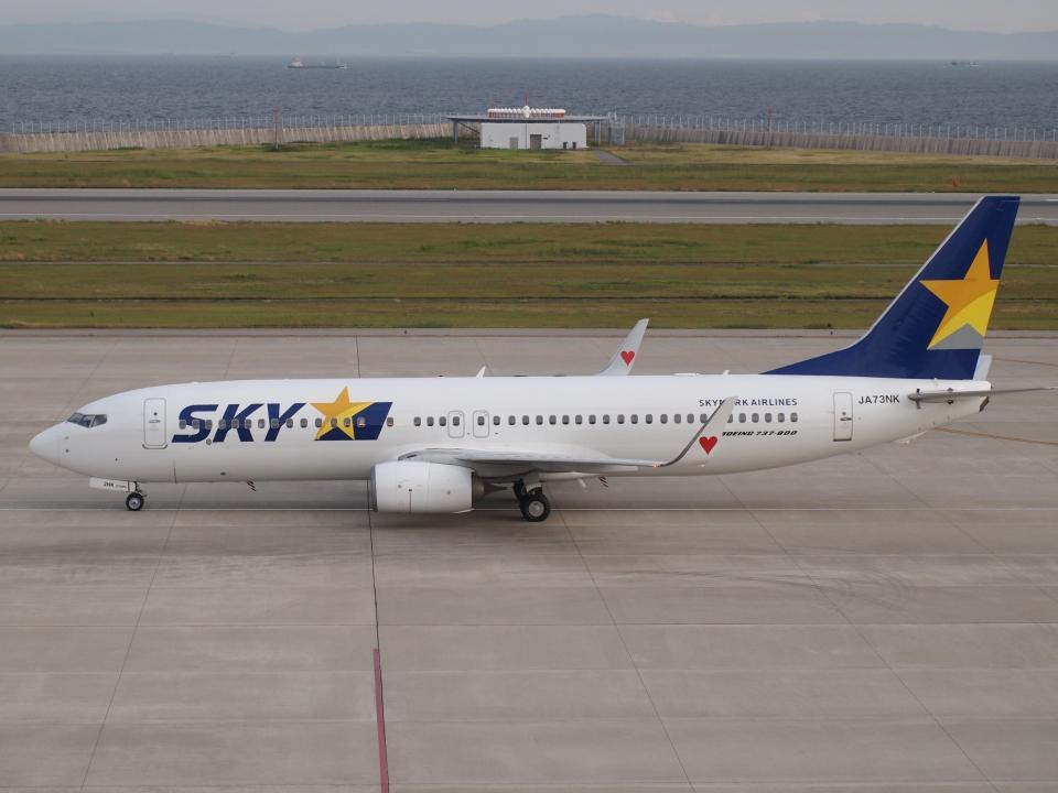 FT51ANさんのスカイマーク Boeing 737-800 (JA73NK) 航空フォト