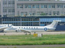 台湾好きの航空ファンさんが、台北松山空港で撮影した中華民国空軍の航空フォト(飛行機 写真・画像)