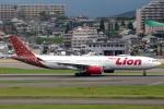 おみずさんが、福岡空港で撮影したタイ・ライオン・エア A330-343Xの航空フォト(写真)