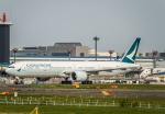 Cygnus00さんが、成田国際空港で撮影したキャセイパシフィック航空 777-367/ERの航空フォト(写真)