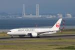航空研究家さんが、中部国際空港で撮影した日本航空 787-8 Dreamlinerの航空フォト(写真)