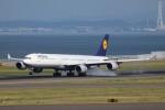航空研究家さんが、中部国際空港で撮影したルフトハンザドイツ航空 A340-642Xの航空フォト(写真)