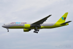 kina309さんが、成田国際空港で撮影したジンエアー 777-2B5/ERの航空フォト(写真)