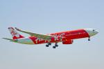 ちゃぽんさんが、成田国際空港で撮影したインドネシア・エアアジア・エックス A330-343Xの航空フォト(写真)