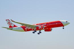 ちゃぽんさんが、成田国際空港で撮影したインドネシア・エアアジア・エックス A330-343Xの航空フォト(飛行機 写真・画像)