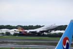 T.Sazenさんが、成田国際空港で撮影したアシアナ航空 747-48Eの航空フォト(飛行機 写真・画像)