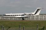 Hariboさんが、成田国際空港で撮影したハネウェル G-IV Gulfstream IV-SPの航空フォト(写真)