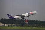 ☆ライダーさんが、成田国際空港で撮影したフェデックス・エクスプレス 777-FS2の航空フォト(写真)