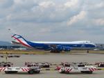 た~きゅんさんが、フランクフルト国際空港で撮影したカーゴロジックエア 747-83QFの航空フォト(写真)