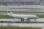 たまさんが、羽田空港で撮影したサウジアラビア王室空軍 737-7DP BBJの航空フォト(飛行機 写真・画像)