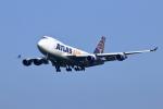 Shin-chaさんが、成田国際空港で撮影したアトラス航空 747-412F/SCDの航空フォト(写真)