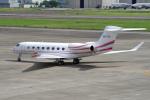 yabyanさんが、名古屋飛行場で撮影したprivate G650ER (G-VI)の航空フォト(飛行機 写真・画像)