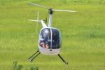 小型機専門家さんが、高知空港で撮影した小川航空 R22 Betaの航空フォト(写真)