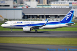 れんしさんが、福岡空港で撮影した全日空 A320-271Nの航空フォト(写真)