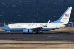 Hariboさんが、羽田空港で撮影したアメリカ空軍 C-40C BBJ (737-7CP)の航空フォト(写真)