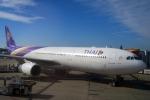 Hiro-hiroさんが、成田国際空港で撮影したタイ国際航空 A330-343Xの航空フォト(写真)