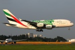 たみぃさんが、成田国際空港で撮影したエミレーツ航空 A380-861の航空フォト(写真)