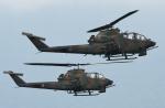 チャーリーマイクさんが、東富士演習場で撮影した陸上自衛隊 AH-1Sの航空フォト(写真)