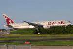 たみぃさんが、成田国際空港で撮影したカタール航空カーゴ 777-FDZの航空フォト(写真)