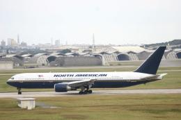 Mr.boneさんが、嘉手納飛行場で撮影したノースアメリカン航空 767-36N/ERの航空フォト(飛行機 写真・画像)