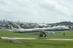 Mr.boneさんが、嘉手納飛行場で撮影したエバーグリーン航空 747-273Cの航空フォト(写真)