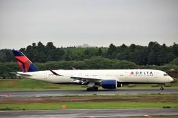 T.Sazenさんが、成田国際空港で撮影したデルタ航空 A350-941XWBの航空フォト(写真)