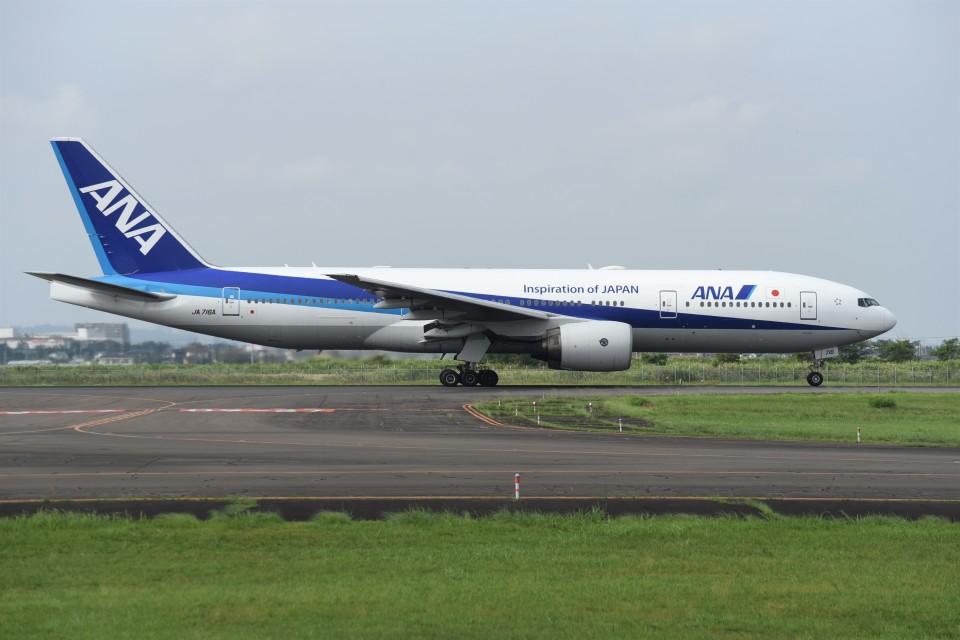 kumagorouさんの全日空 Boeing 777-200 (JA716A) 航空フォト
