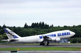 T.Sazenさんが、成田国際空港で撮影したウエスタン・グローバル・エアラインズ 747-446(BCF)の航空フォト(写真)