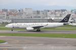 ゆう改めてさんが、福岡空港で撮影したタイ国際航空 A330-343Xの航空フォト(写真)