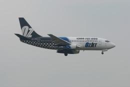 tassさんが、成田国際空港で撮影したオズジェット 737-229/Advの航空フォト(飛行機 写真・画像)