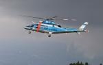 EosR2さんが、鹿児島空港で撮影した大分県警察 A109E Powerの航空フォト(写真)
