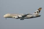 garrettさんが、パリ シャルル・ド・ゴール国際空港で撮影したエティハド航空 A380-861の航空フォト(写真)