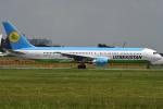 tassさんが、成田国際空港で撮影したウズベキスタン航空 767-33P/ERの航空フォト(飛行機 写真・画像)