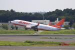 ☆ライダーさんが、成田国際空港で撮影したチェジュ航空 737-8FHの航空フォト(写真)