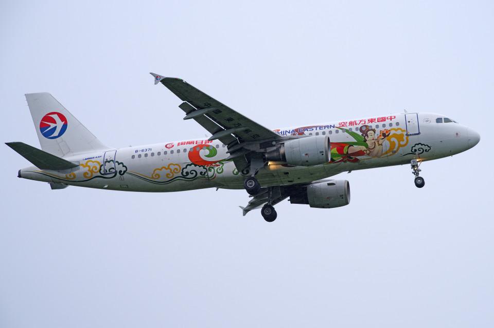 apphgさんの中国東方航空 Airbus A320 (B-6371) 航空フォト
