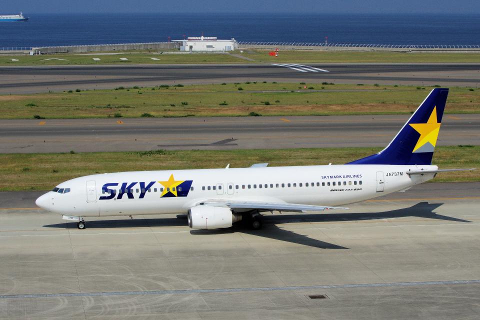 yabyanさんのスカイマーク Boeing 737-800 (JA737M) 航空フォト