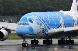 T.Sazenさんが、成田国際空港で撮影した全日空 A380-841の航空フォト(写真)