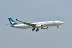 ポン太さんが、スワンナプーム国際空港で撮影したキャセイパシフィック航空 A330-343Xの航空フォト(写真)
