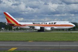 harahara555さんが、横田基地で撮影したカリッタ エア 747-4B5(BCF)の航空フォト(飛行機 写真・画像)
