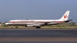 ハミングバードさんが、名古屋飛行場で撮影した日本航空 DC-8-62の航空フォト(飛行機 写真・画像)