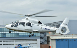 Soraya_Projectさんが、東京ヘリポートで撮影したエアバス・ヘリコプターズ・ジャパン AS365N2 Dauphin 2の航空フォト(飛行機 写真・画像)