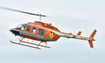 Soraya_Projectさんが、東京ヘリポートで撮影した新日本ヘリコプター 206L-3 LongRanger IIIの航空フォト(写真)
