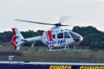 Soraya_Projectさんが、ツインリンクもてぎで撮影した本田航空 EC135P2の航空フォト(写真)