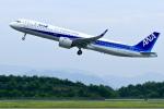 くれないさんが、高松空港で撮影した全日空 A321-272Nの航空フォト(写真)