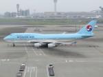 えすぷりさんが、羽田空港で撮影した大韓航空 747-4B5の航空フォト(写真)