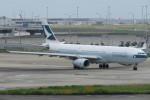 SFJ_capさんが、関西国際空港で撮影したキャセイパシフィック航空 A330-343Xの航空フォト(写真)